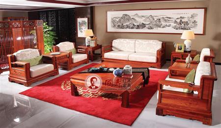 国寿红木作品