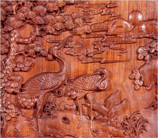 Rose wood engraving-XFL-1625-6 wood engraving machine-XINFALA CNC China