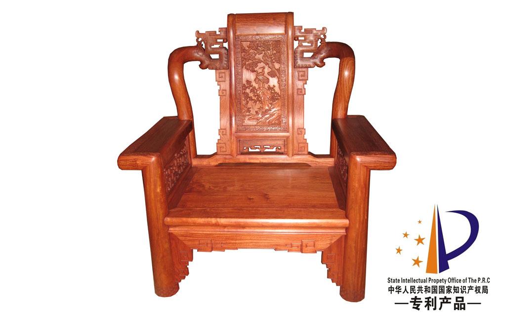 外观专利展示----国寿红木家具